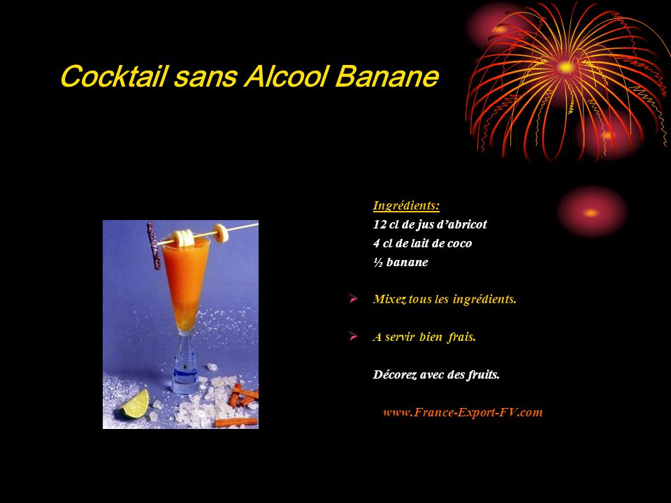 Cocktail sans Alcool Banane