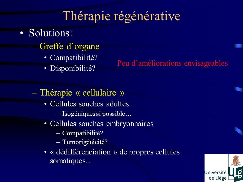 Thérapie régénérative
