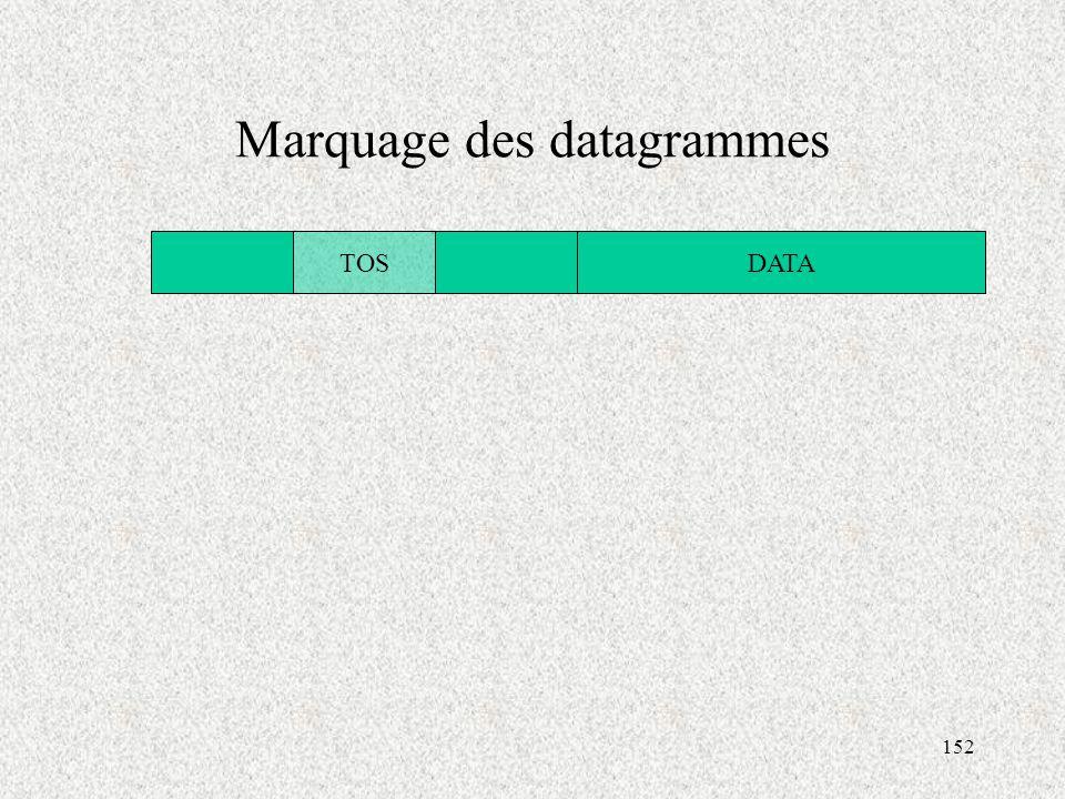 Marquage des datagrammes
