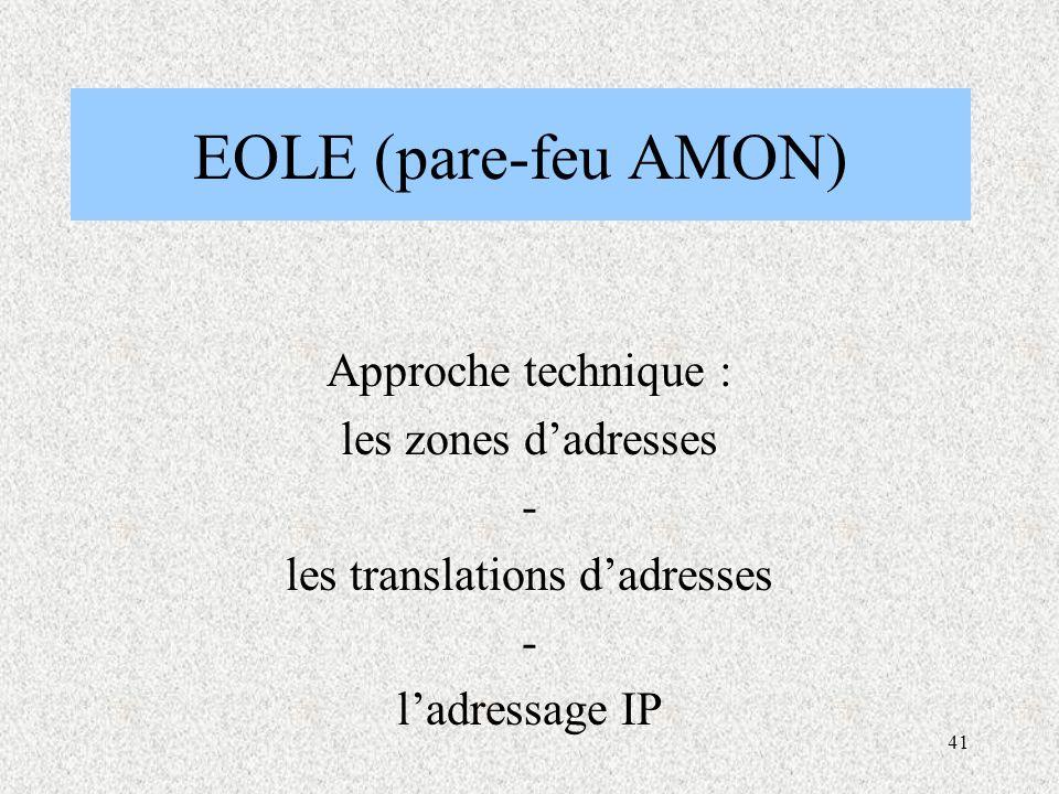 les translations d'adresses