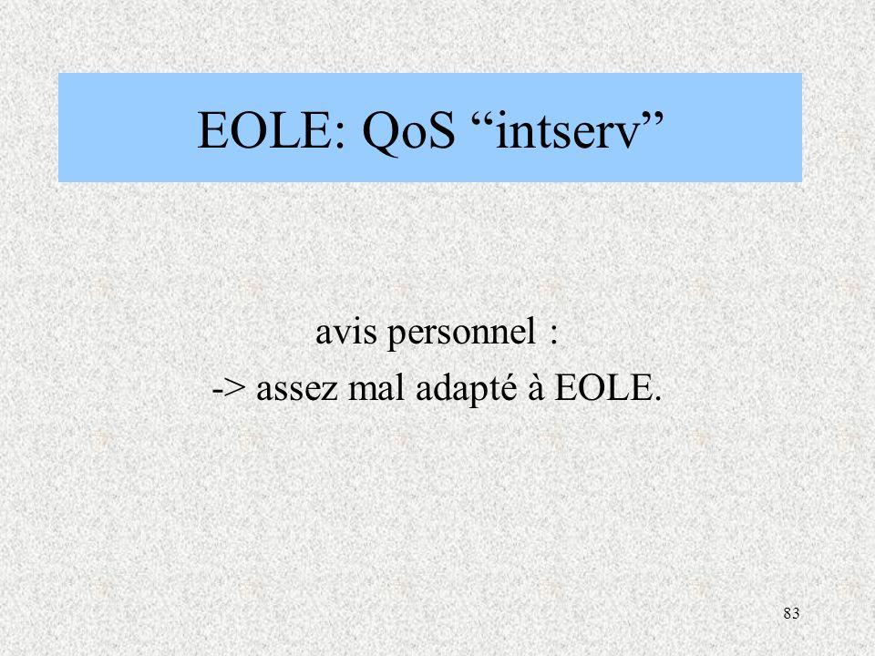 avis personnel : -> assez mal adapté à EOLE.