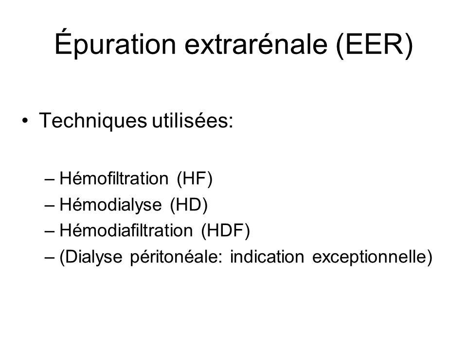 Épuration extrarénale (EER)