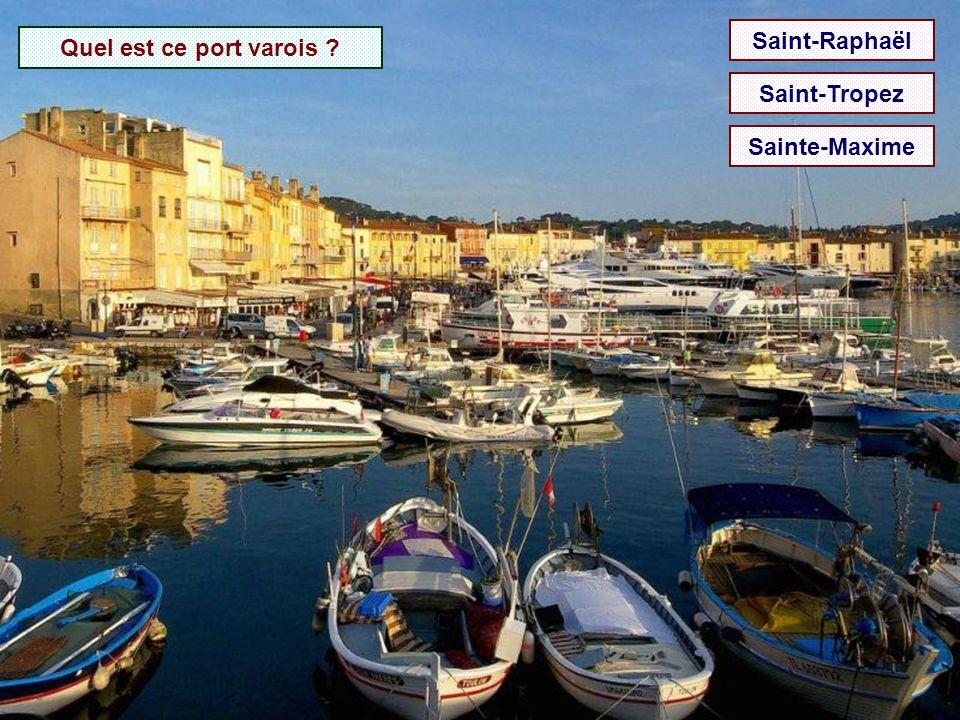 Saint-Raphaël Quel est ce port varois Saint-Tropez Sainte-Maxime