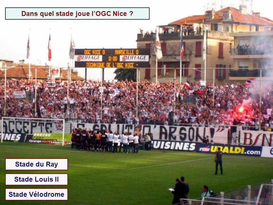 Dans quel stade joue l'OGC Nice