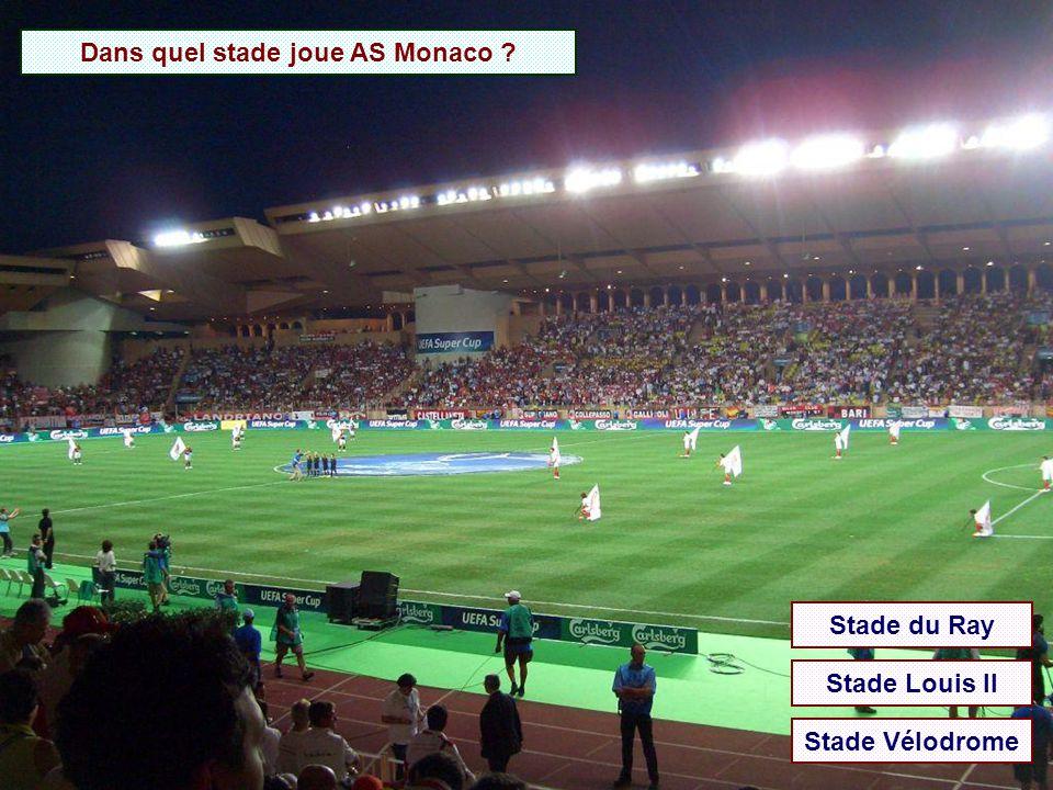 Dans quel stade joue AS Monaco