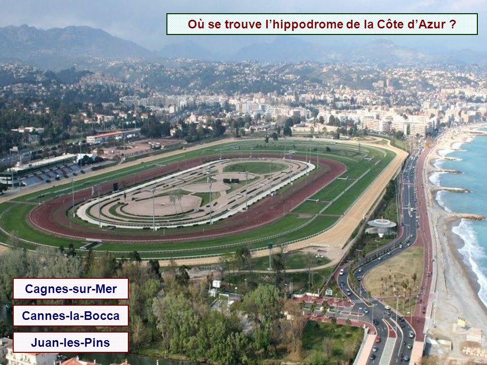 Où se trouve l'hippodrome de la Côte d'Azur