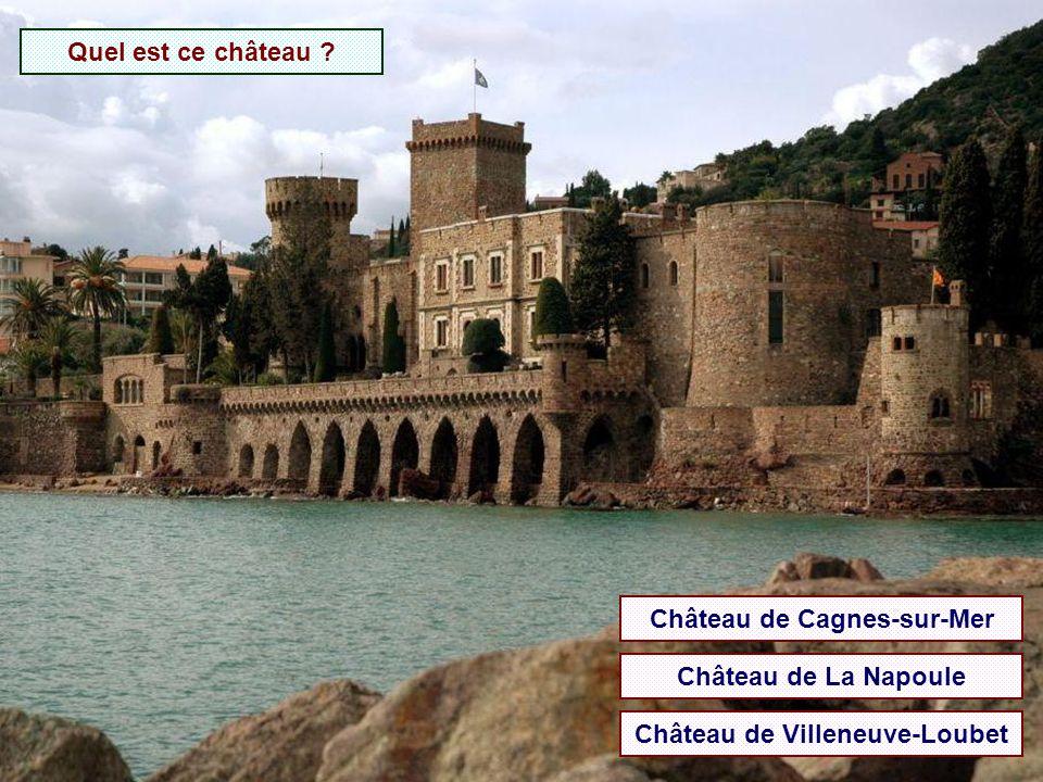 Château de Cagnes-sur-Mer Château de Villeneuve-Loubet