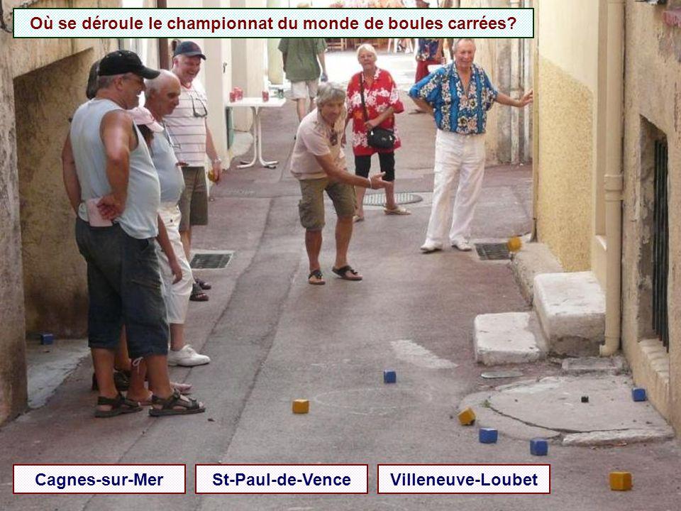 Où se déroule le championnat du monde de boules carrées