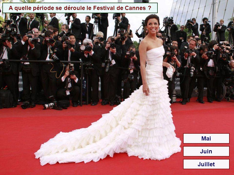 A quelle période se déroule le Festival de Cannes