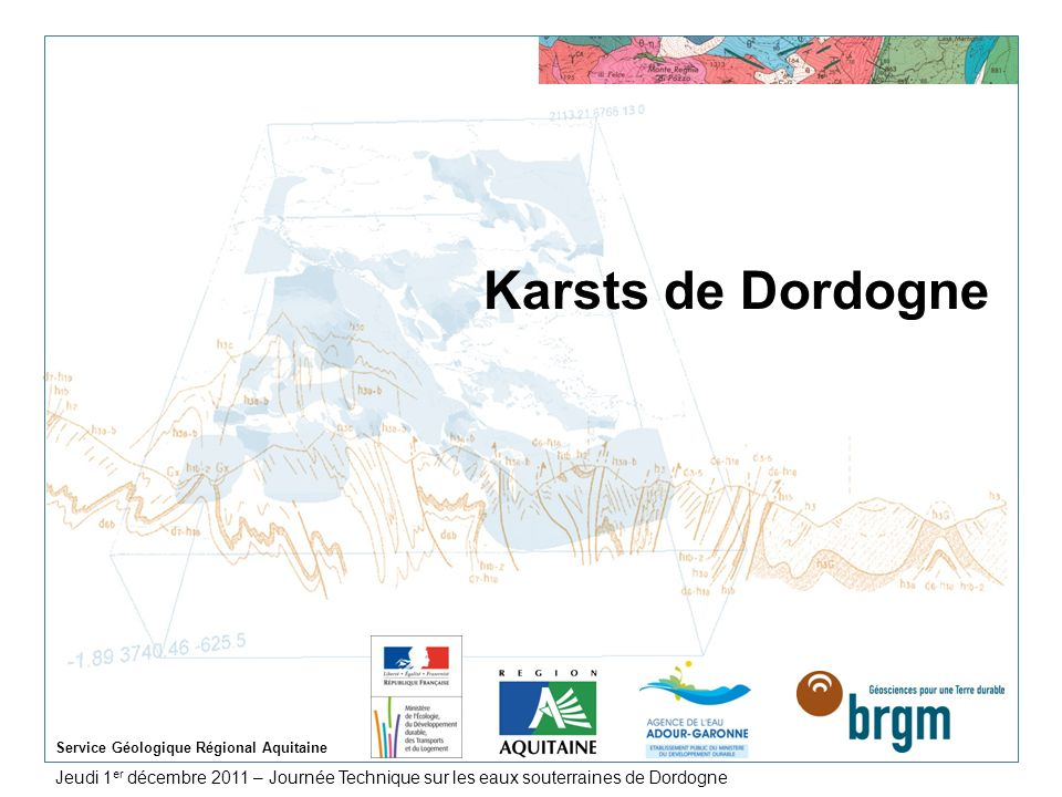 Service Géologique Régional Aquitaine