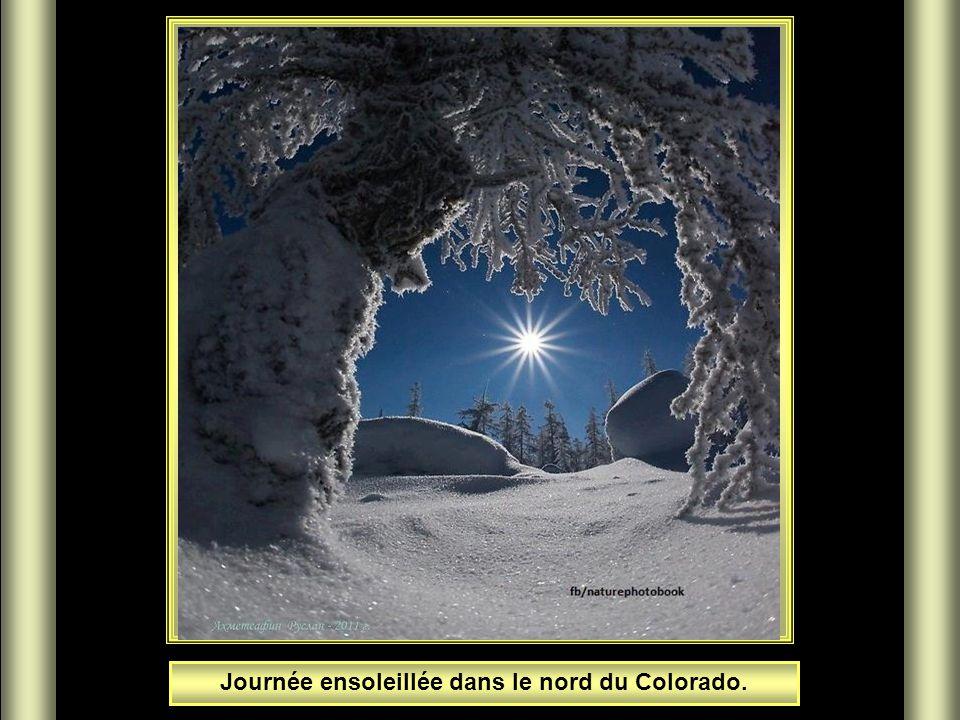 Journée ensoleillée dans le nord du Colorado.