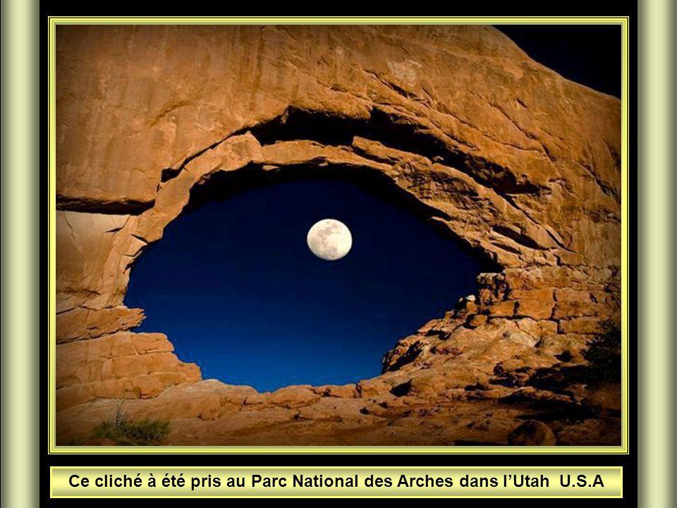 Ce cliché à été pris au Parc National des Arches dans l'Utah U.S.A