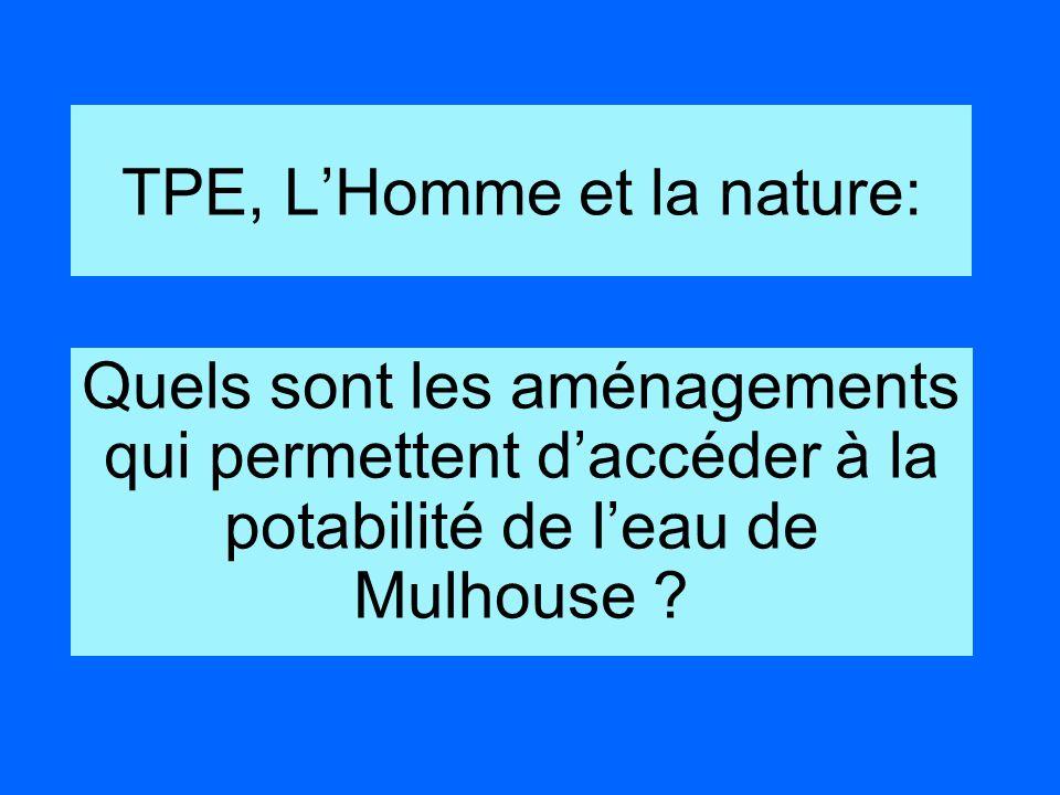 TPE, L'Homme et la nature: