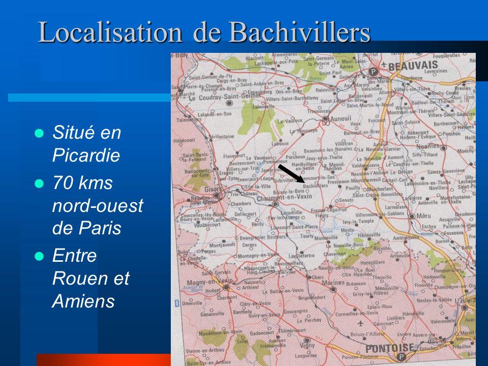 Localisation de Bachivillers