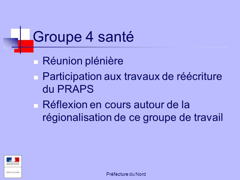 Groupe 4 santé Réunion plénière