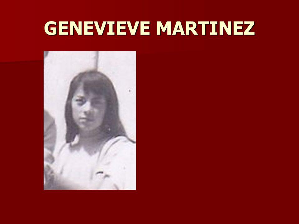 GENEVIEVE MARTINEZ