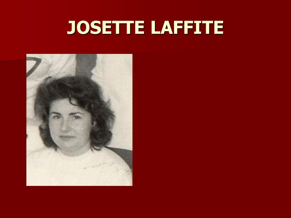 JOSETTE LAFFITE