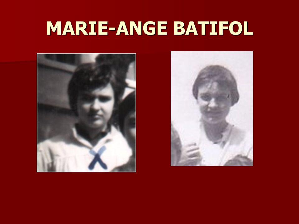 MARIE-ANGE BATIFOL