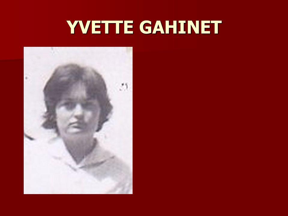 YVETTE GAHINET