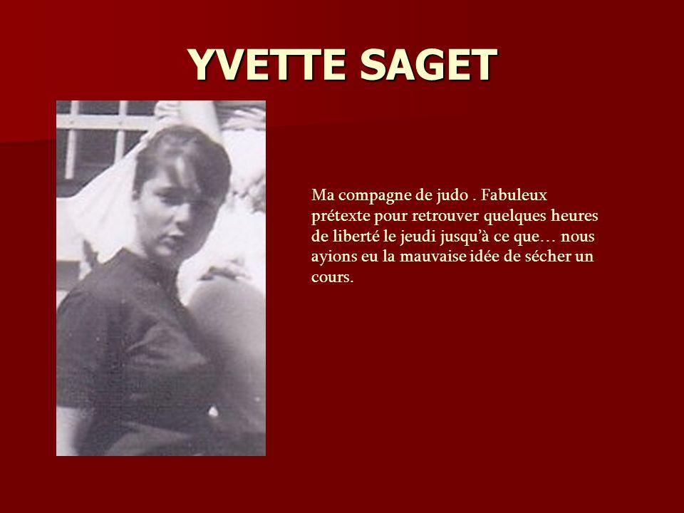 YVETTE SAGET