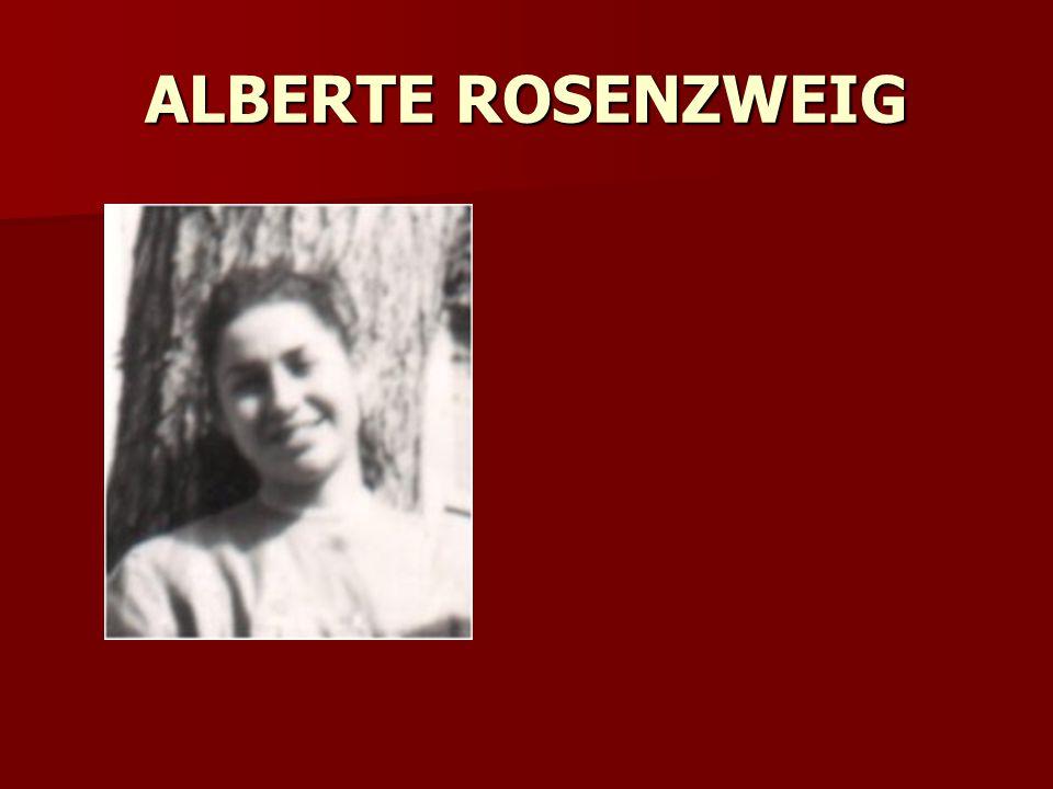 ALBERTE ROSENZWEIG