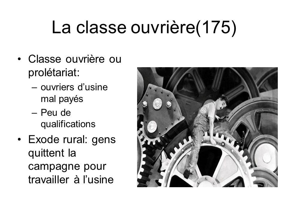 La classe ouvrière(175) Classe ouvrière ou prolétariat: