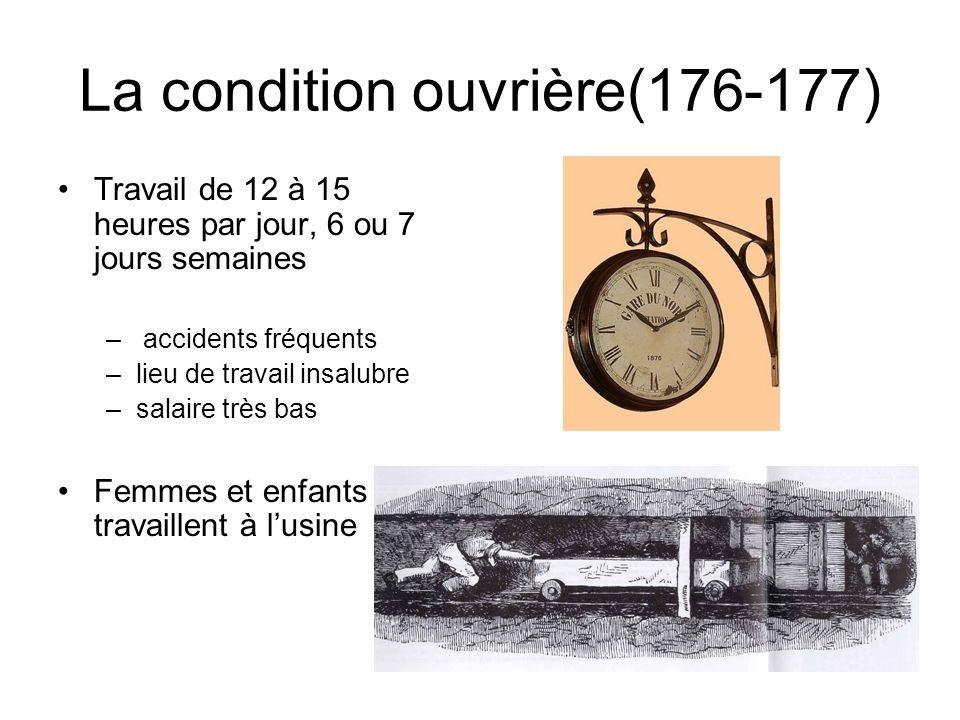 La condition ouvrière(176-177)