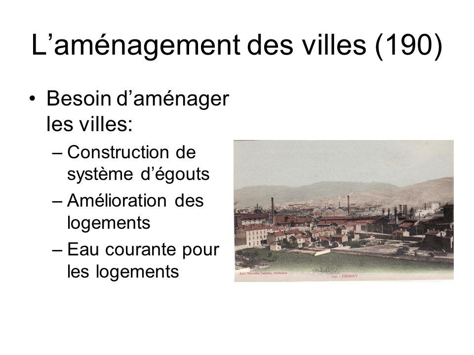L'aménagement des villes (190)