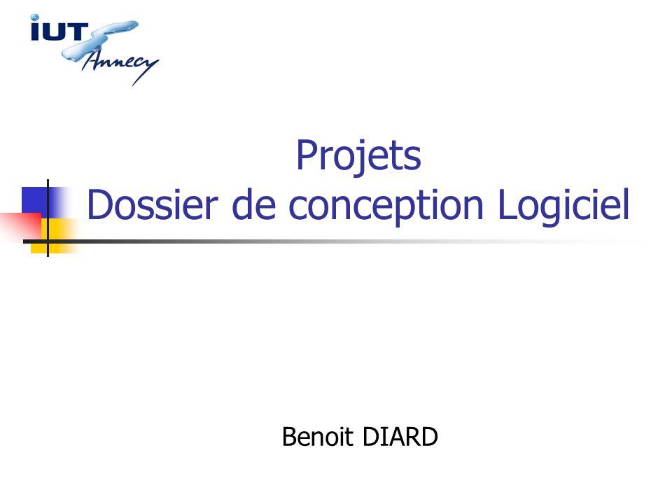 Projets Dossier de conception Logiciel