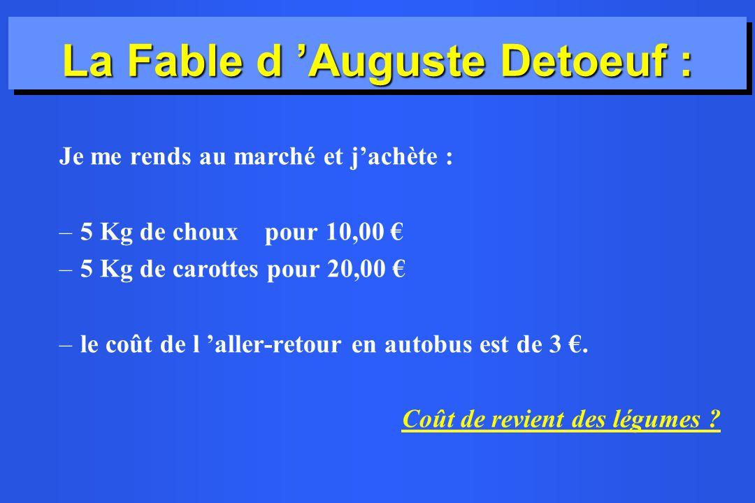 La Fable d 'Auguste Detoeuf :
