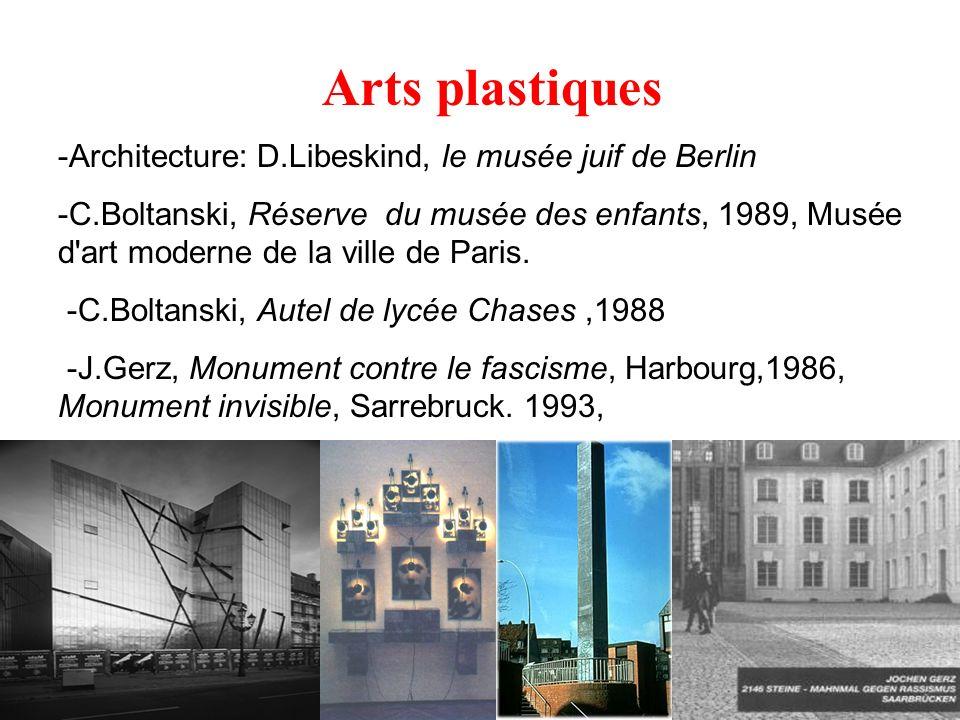 Arts plastiques -Architecture: D.Libeskind, le musée juif de Berlin