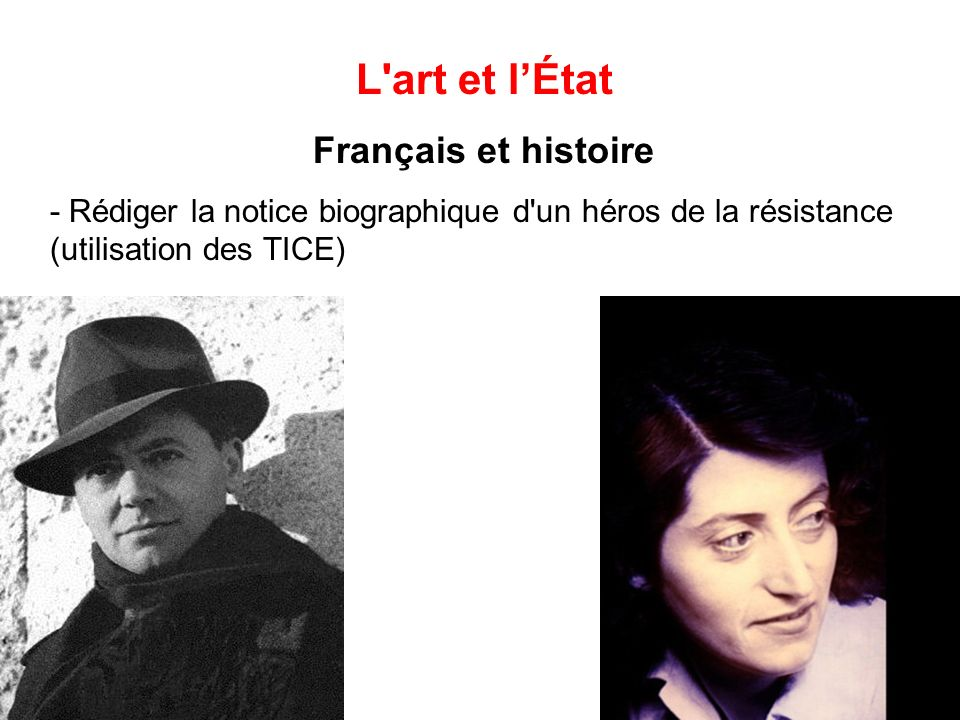 L art et l'État Français et histoire