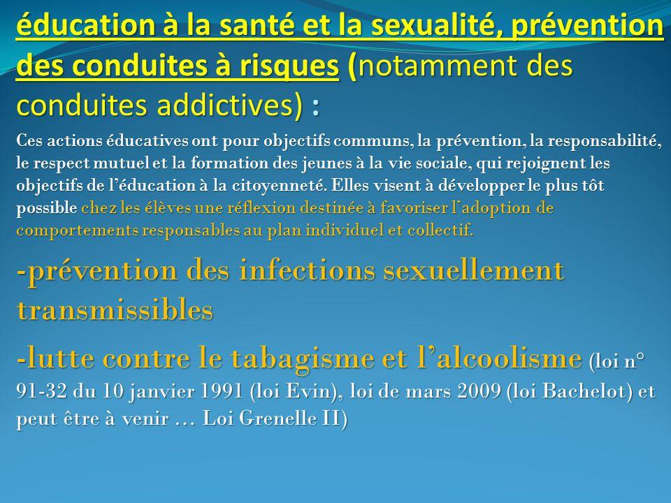 -prévention des infections sexuellement transmissibles