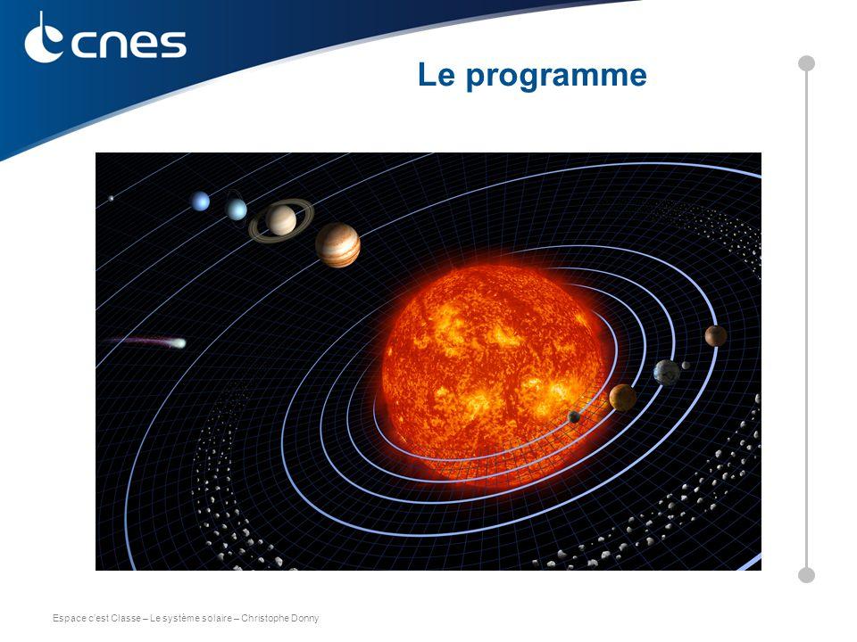 Le programme C. DONNY – CNES 2011