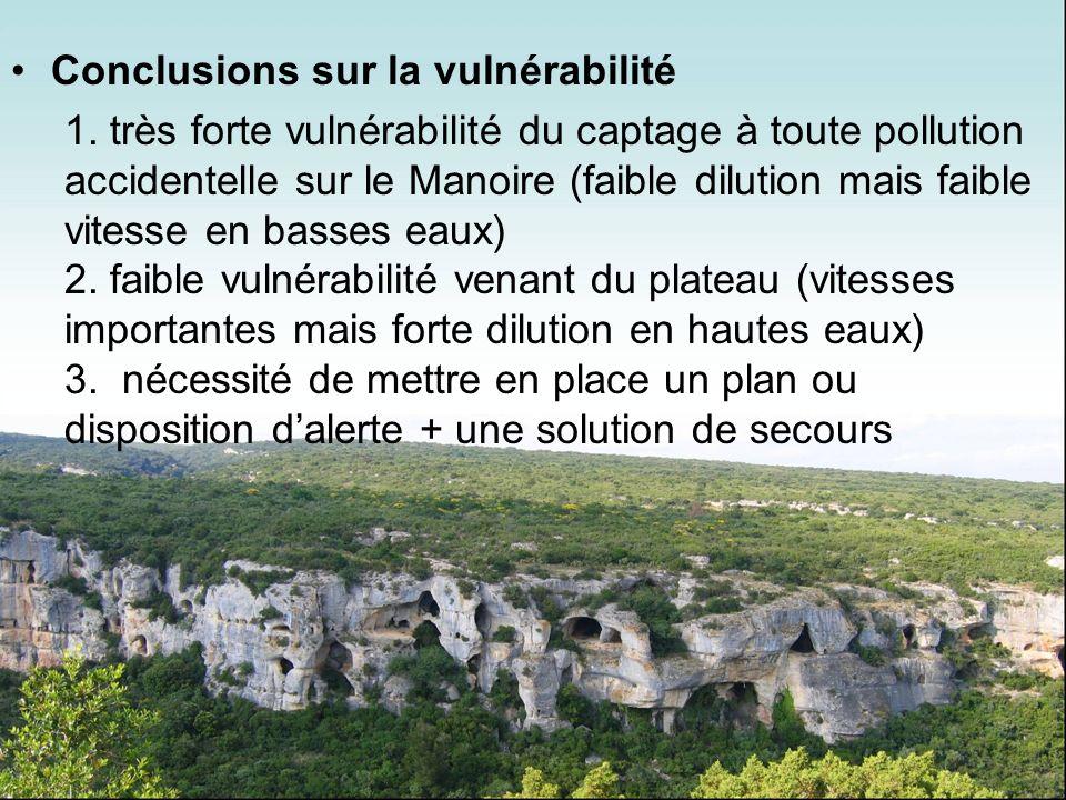 Conclusions sur la vulnérabilité