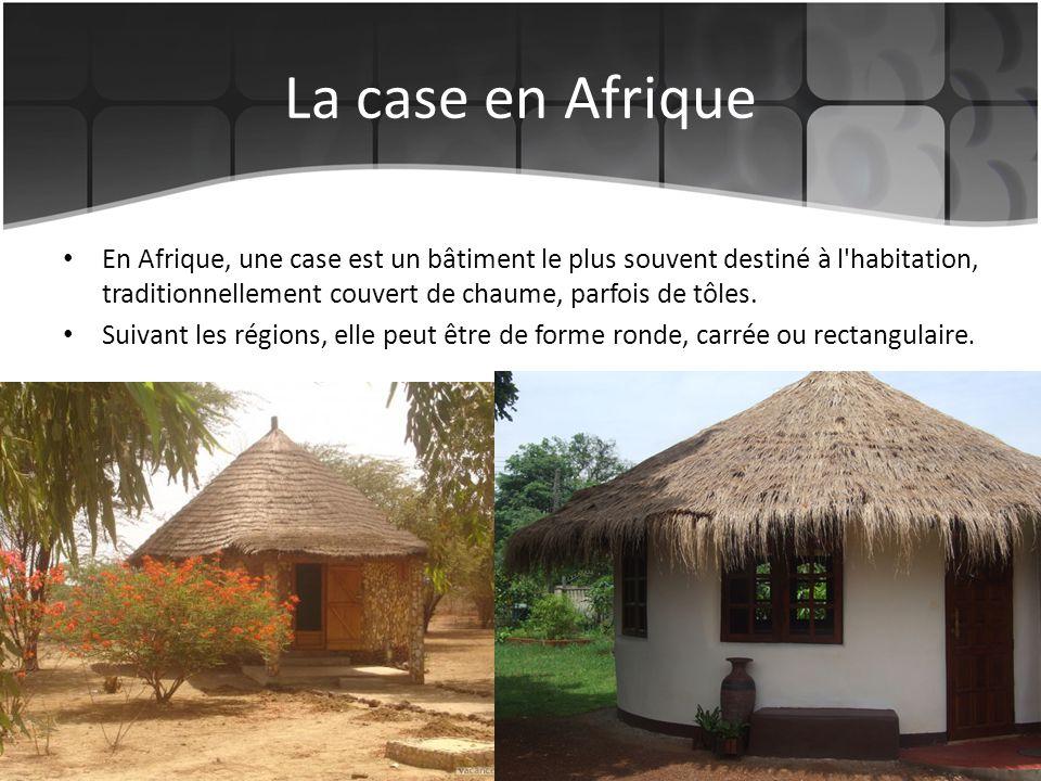 La case en Afrique