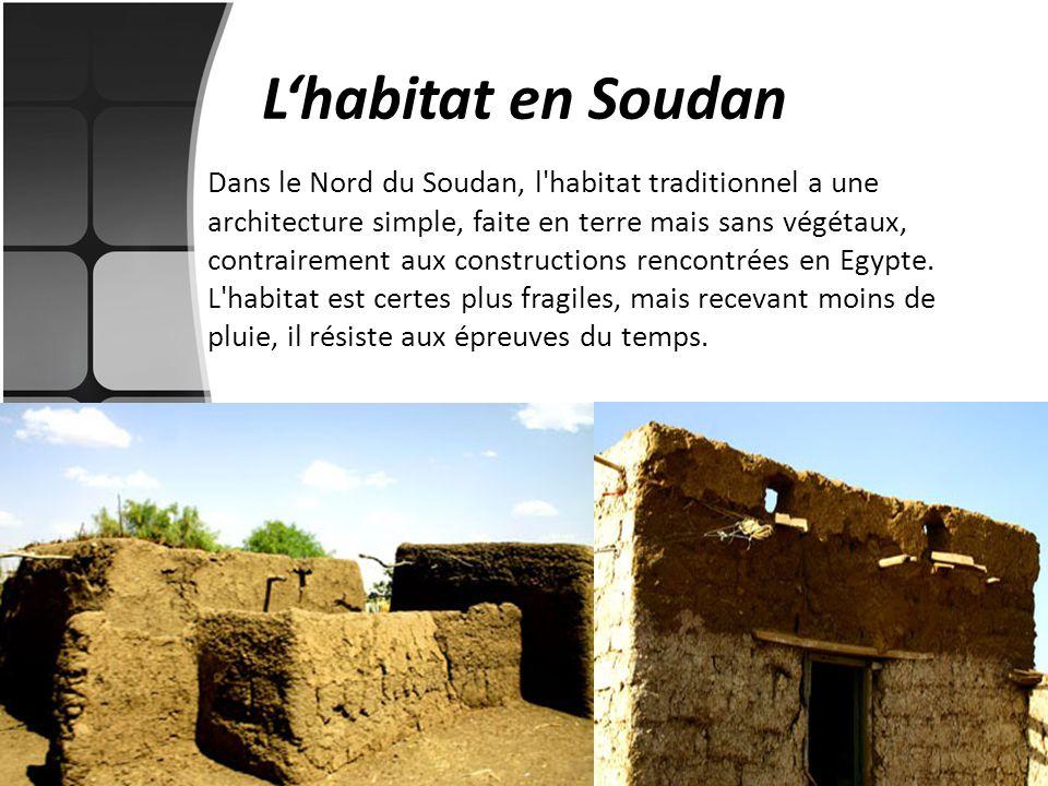 L'habitat en Soudan