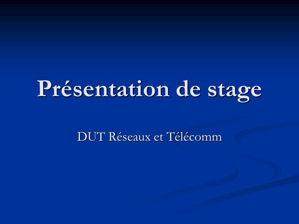 DUT Réseaux et Télécomm
