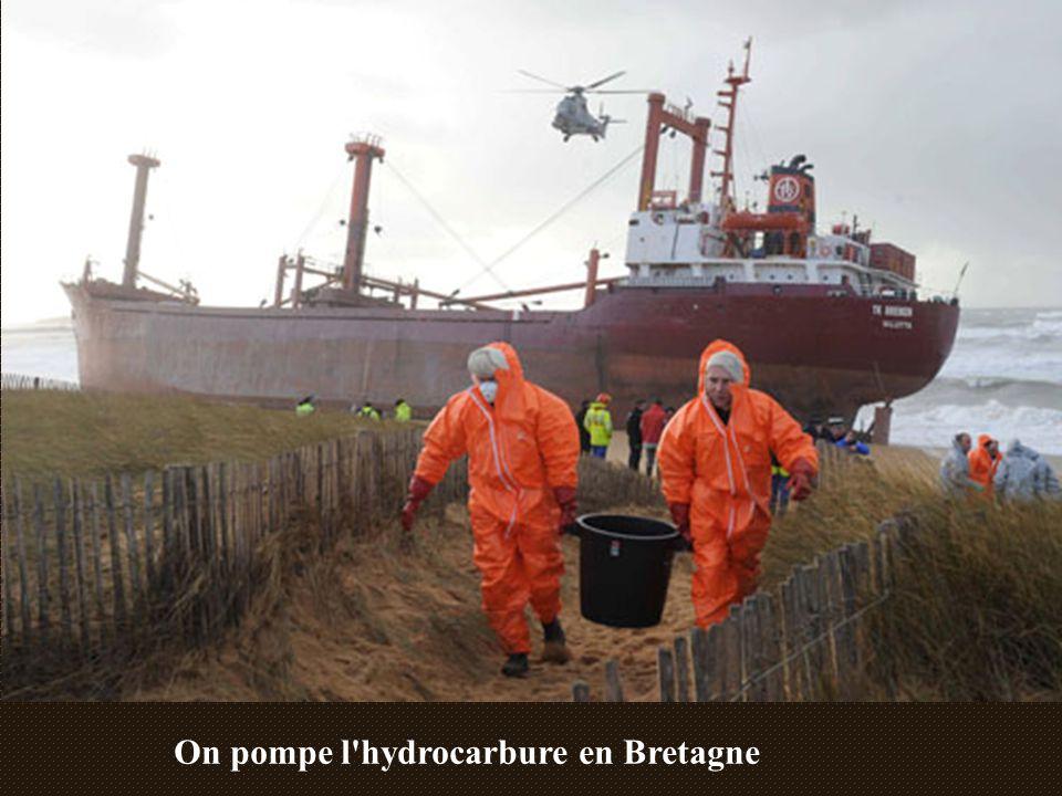 On pompe l hydrocarbure en Bretagne