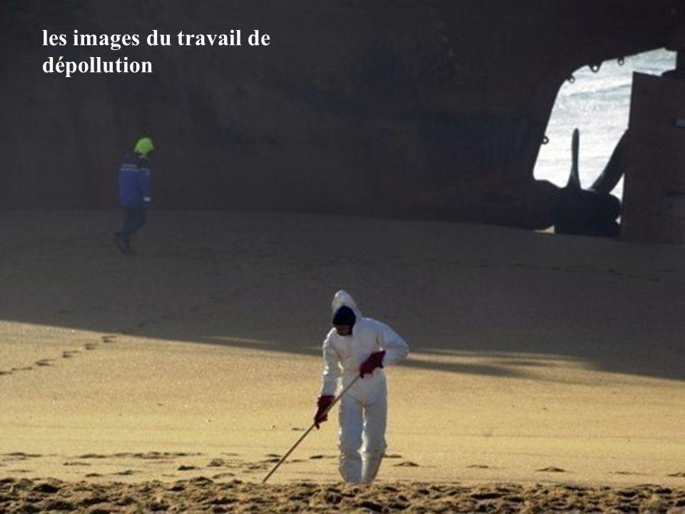 les images du travail de dépollution