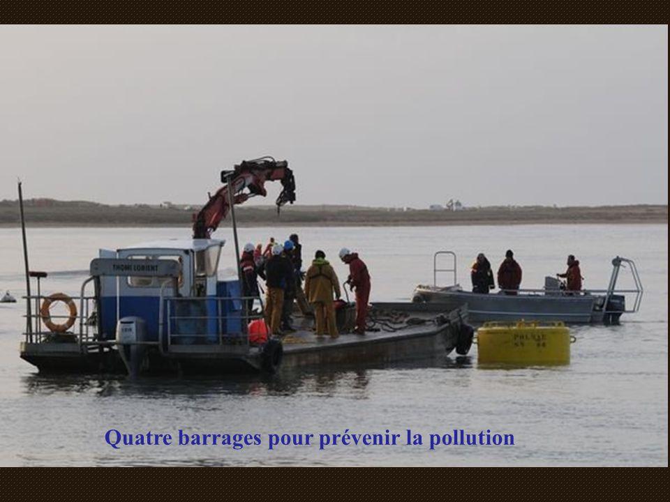 Quatre barrages pour prévenir la pollution