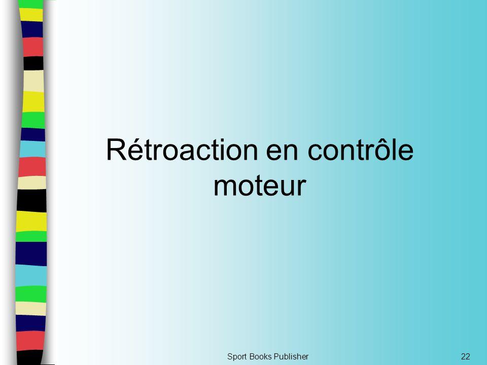 Rétroaction en contrôle moteur
