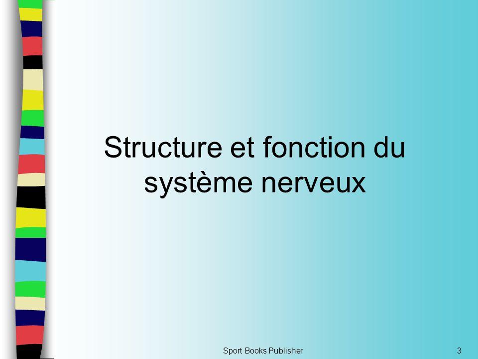Structure et fonction du système nerveux