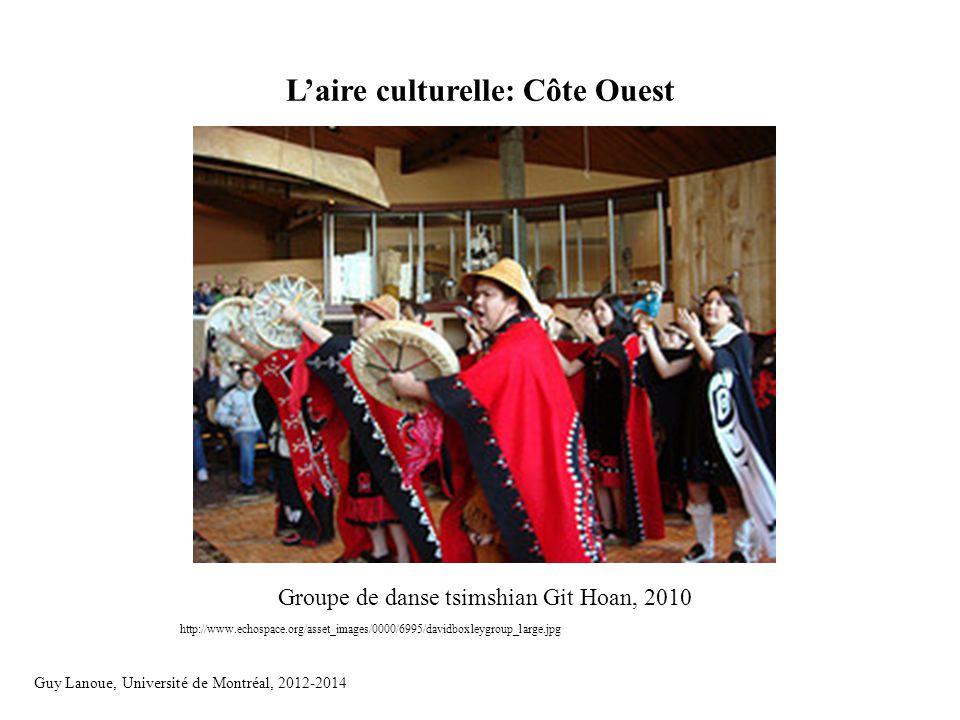 L'aire culturelle: Côte Ouest