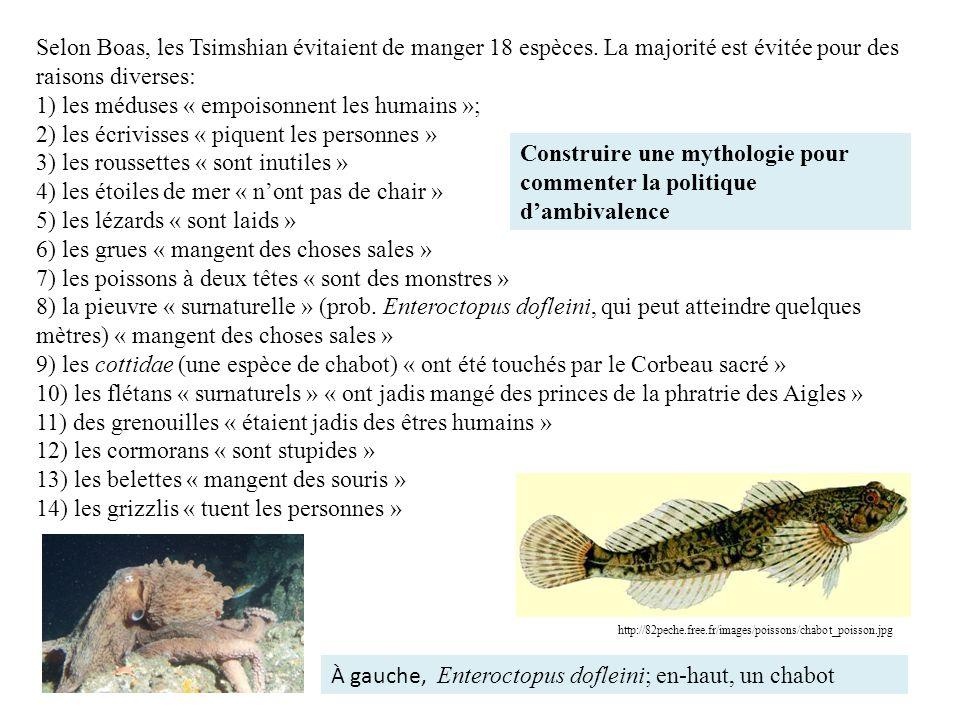 1) les méduses « empoisonnent les humains »;