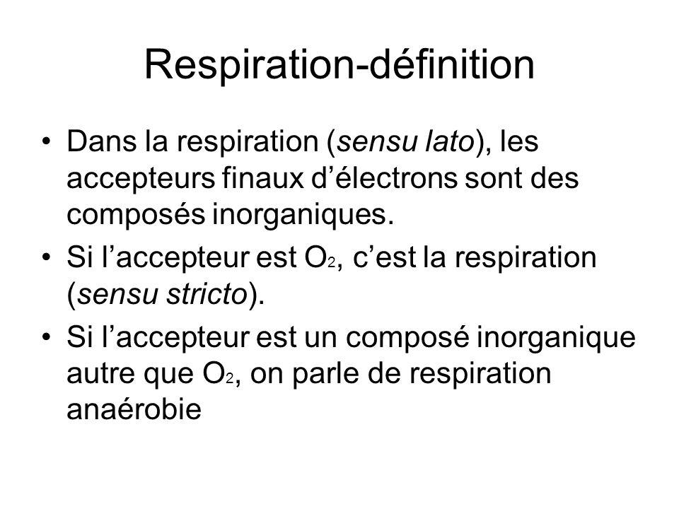 Respiration-définition