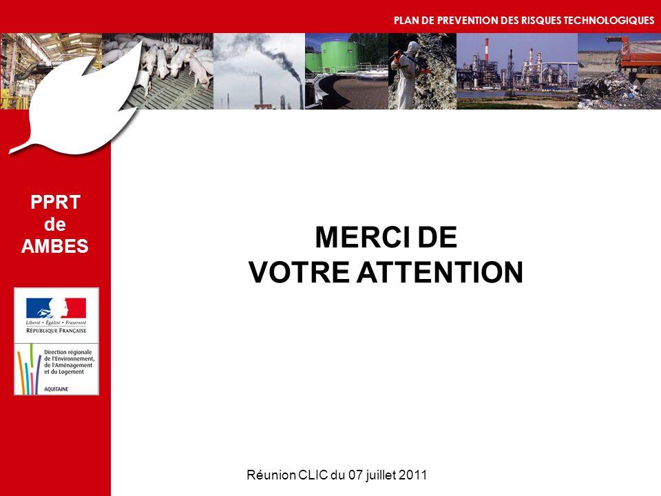 Réunion CLIC du 07 juillet 2011