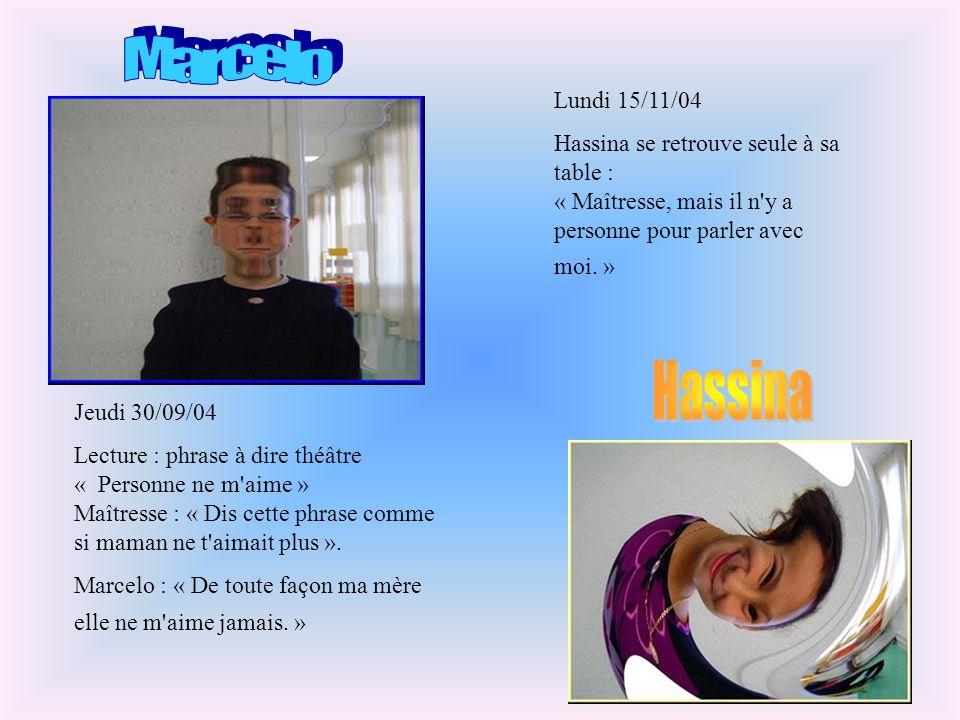 Marcelo Hassina Lundi 15/11/04