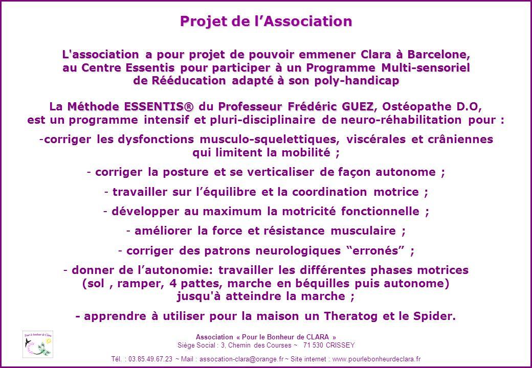 Projet de l'Association