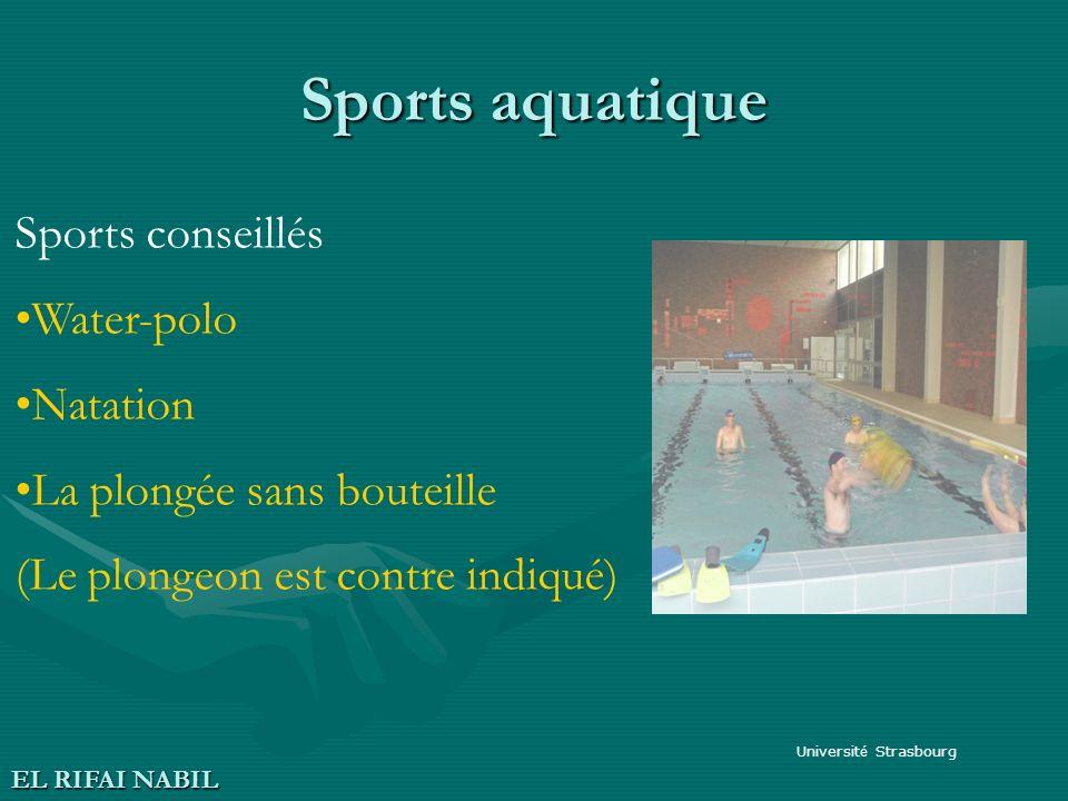Sports aquatique Sports conseillés Water-polo Natation